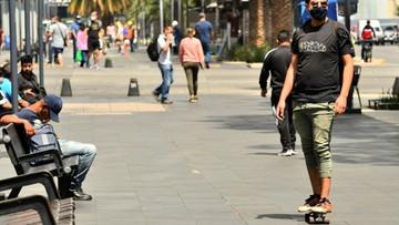 Rekordowy wzrost liczby zgonów i zakażeń w Meksyku