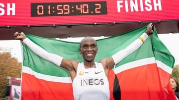 2019-10-13 Wynik Kipchoge w maratonie wzbudza zachwyt i... wątpliwości