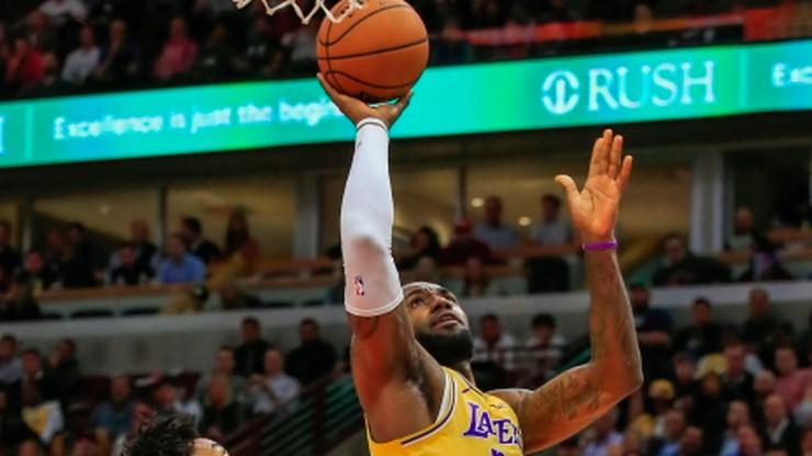 NBA: Obrońcy tytułu przerwali serię Lakers