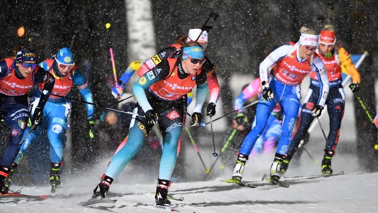 PŚ w biathlonie: Norweżki najlepsze w sztafecie 4x6 km, Polki trzynaste