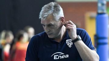 TAURON Liga: Zawieracz nie jest już trenerem ENEA PTPS Piła