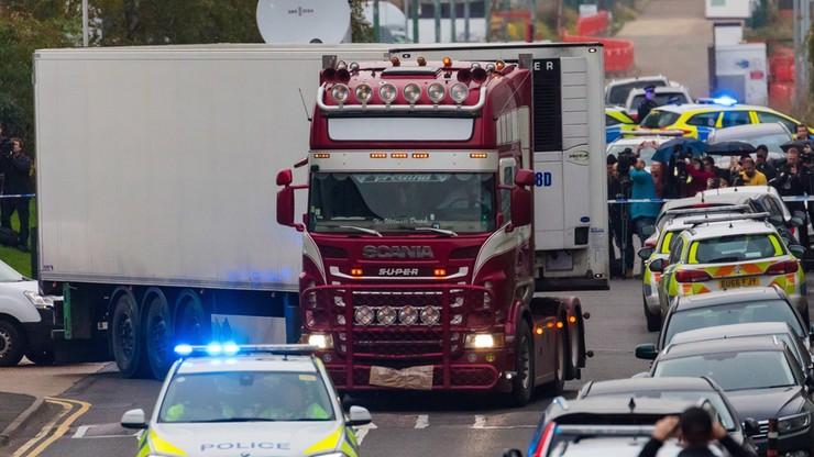 Rozpaczliwy SMS z ciężarówki, w której odkryto 39 ciał