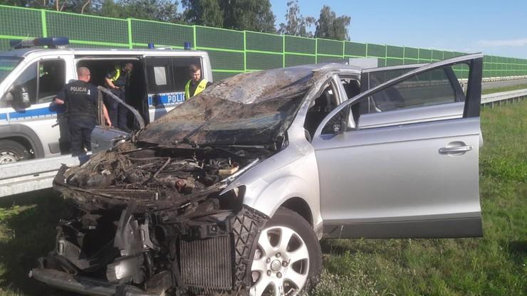 Śmiertelny wypadek na autostradzie A1. Sprawcy uciekli - Polsat News