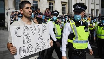 Wielka Brytania przygotowuje się na drugą falę. Wysoka grzywna za złamanie zasad
