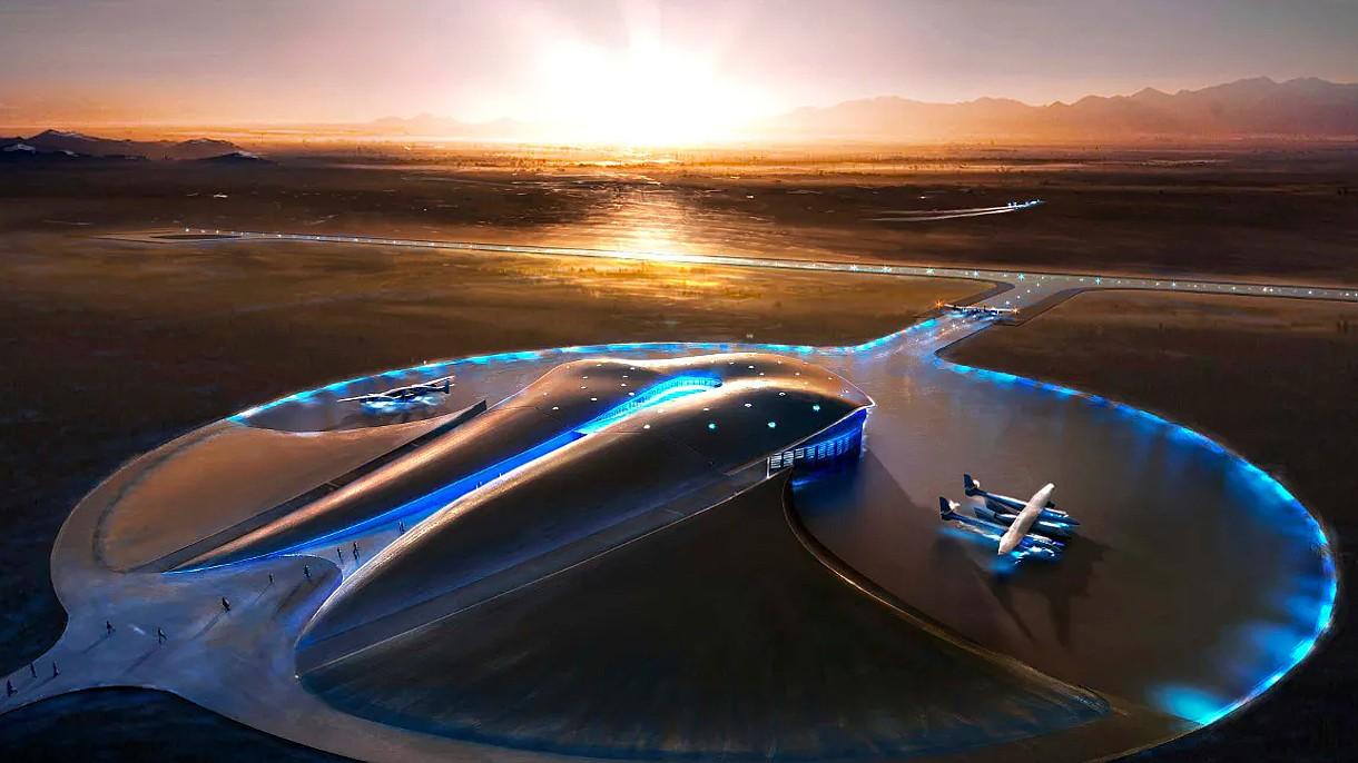SpaceShipTwo zawitał do Spaceport America. Kosmiczna turystyka puka do drzwi