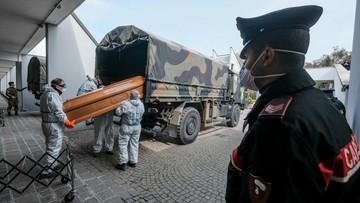 Prawie tysiąc ofiar w ciągu dobry. Najtragiczniejszy dotąd bilans we Włoszech