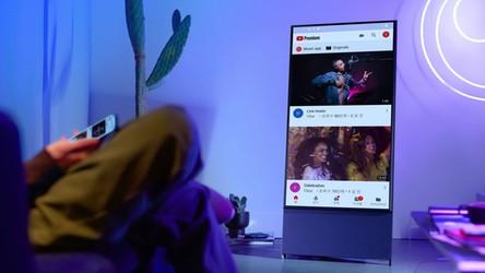 """Samsung wprowadza do sprzedaży """"obrotowe"""" TV dla fanów smartfonów"""