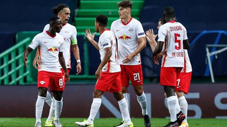Liga Mistrzów: RB Lipsk - Atletico Madryt 2:1. Skrót meczu (WIDEO)