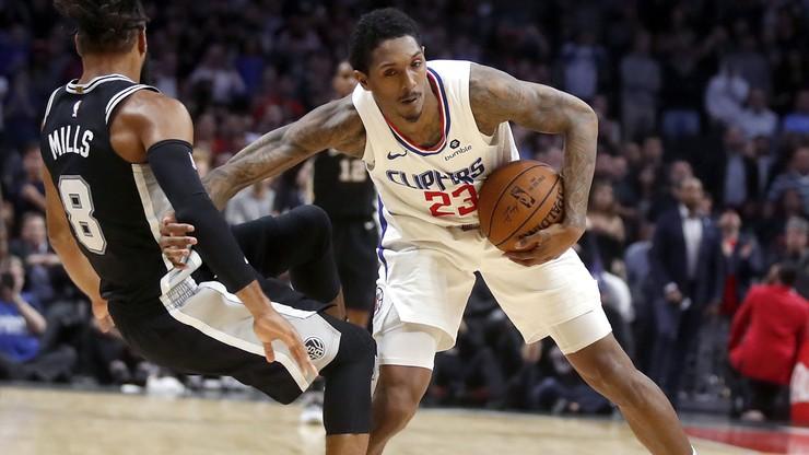 NBA: Kolejny gracz LA Clippers nie trenuje z drużyną