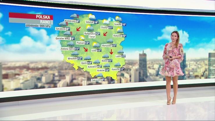 Prognoza pogody - środa, 30 września - rano